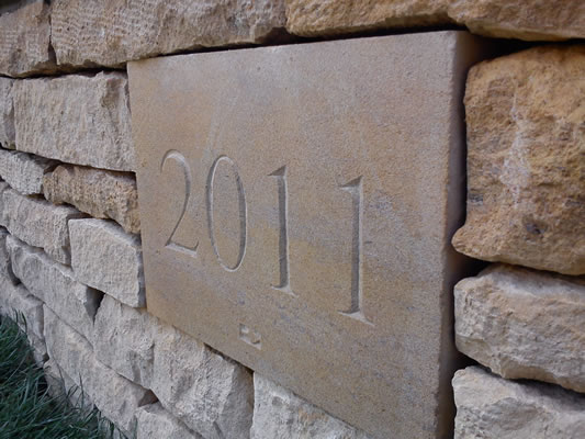 Dry stone walling and date carving lincolnshire