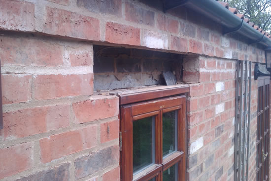 Lintels Replaced By Mr Parker Builders